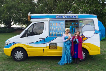 Ice Cream Van Hire Birthday Party