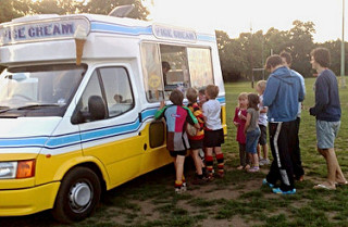 Ice Cream Van Hire Rugby Festival